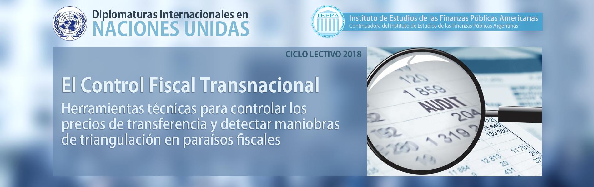 El Control Fiscal Transnacional