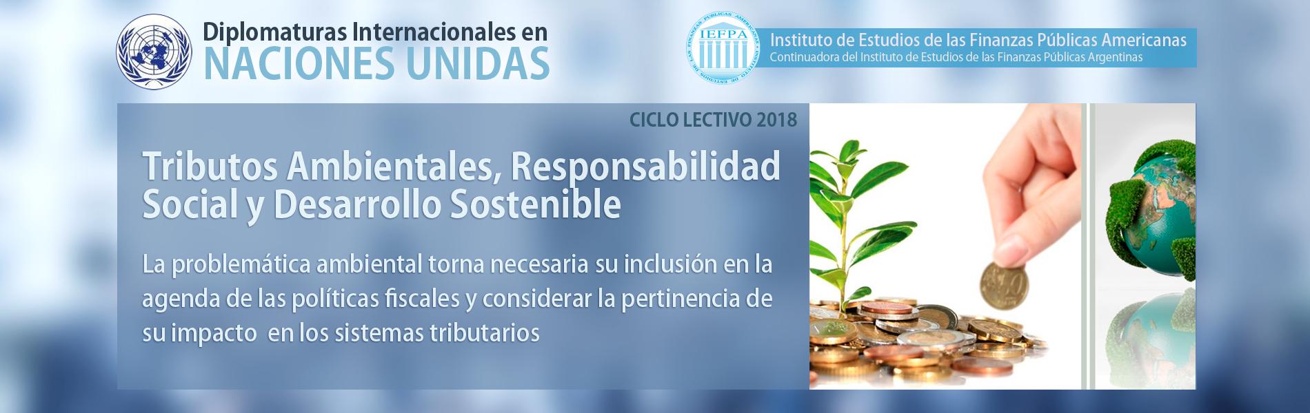 Tributos Ambientales, Responsabilidad Social Y Desarrollo Sostenible